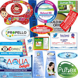 Polyester Sticker, Packaging Type: Corrugated Box