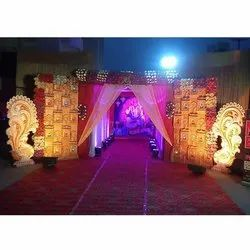 Decorative Wedding Entry Gate