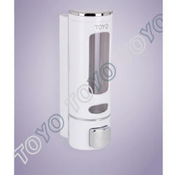 White Manual Soap Dispenser