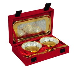 Gold And Silver Plated Corporate Diwali Gifts