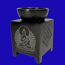 Buddha Soapstone Oil Burner