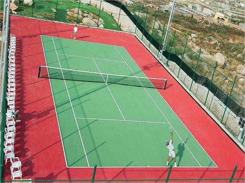 Outdoor Sports Court - Badminton Court Surface Manufacturer