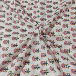 Printed Cambric Cotton Fabric for Kurtis, GSM: 50-100