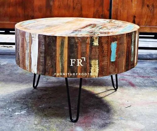 Bar Cafe Coffee Table Rustic Coffee Table Indian Reclaimed Wood Furniture