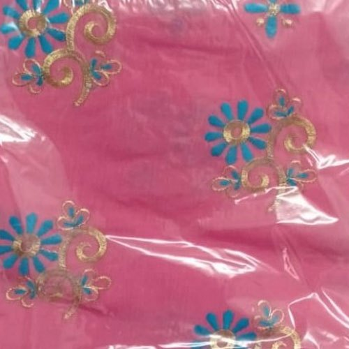 Party Wear Embroidered Cotton Fancy Mekhela Chadar