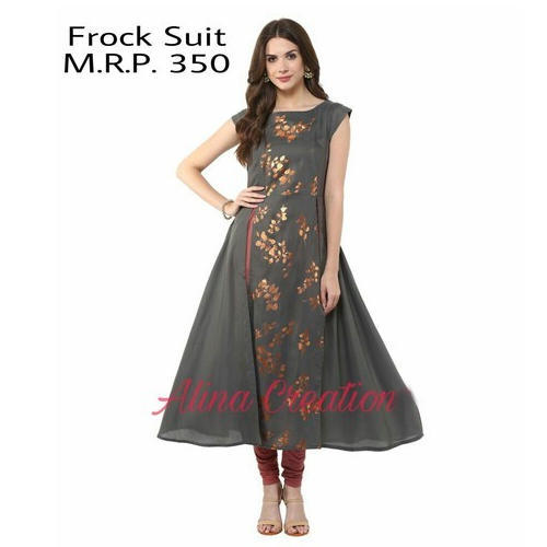 182d461a73 Casual Wear Frock Suit, Rs 350 /piece, M/s Shine & Co. | ID: 14650631591