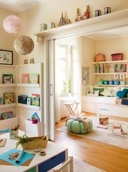 Kids Room Interiors Ceiling