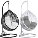 Carry Bird Black And White Swing