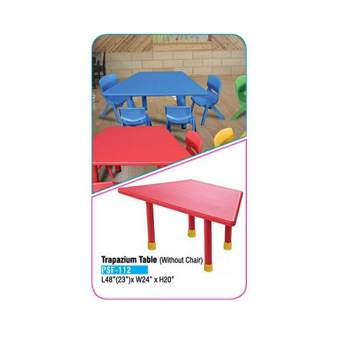 Kids Trapazium Table And Chair