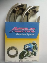 2 Wheeler Front Active Motorcycle Brake Shoes, Packaging Type: Box