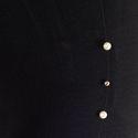 Black color white moti with silver pearl leggings