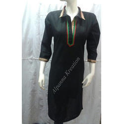 Cambric Cotton Office Wear Kurtis