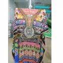 Digital Print Party Wear Kaftan Dress