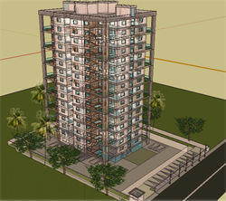 Hubtown Imperial Apartments Project