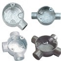 GI Junction Box Fittings Pg Type And Thread Type For GI Conduit Pipes