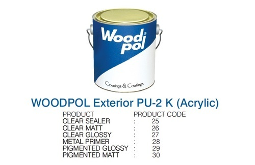 Woodpol Exterior Pu Acrylic Clear Sealer 025 At Rs 214