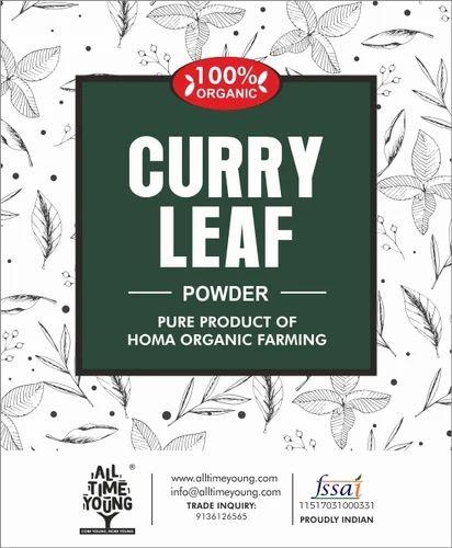 Green Organic Curry Leaf Powder, Packaging Size: 5 kg, Size (gram): 5 Kg
