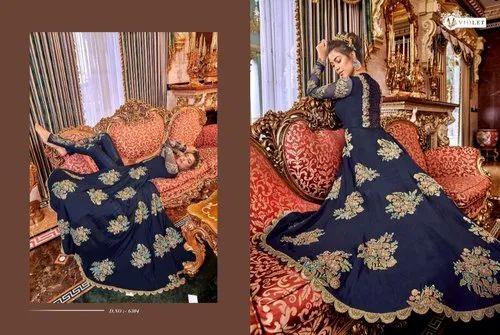 Violet Wedding Anarkali Suit