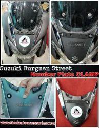 Suzuki Burgman Street Number Plate Clamp