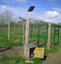 Rectangular Solar Fencing System, Rs 3000 /unit, Hitech ...
