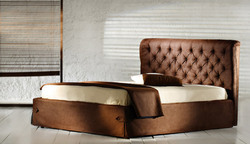 Westin Leather Bed
