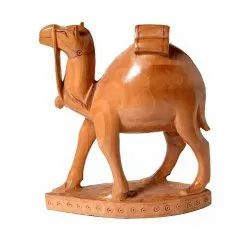 4-6 Inch Wooden Camel