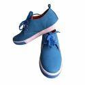 Men's Blue Lace Up Sneaker Shoes