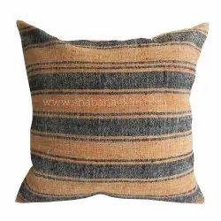 Woven Stripe Cushion Covers