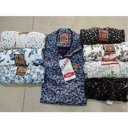 38 To 44 Mens Cotton Printed Shirt