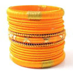Indian Handcraft Hot Trendy Jewelry Silk Thread Bangles