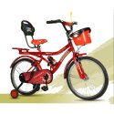 Steel 20 Inch Concept Kids Bicycle, Foam Padded With Backrest, Basket