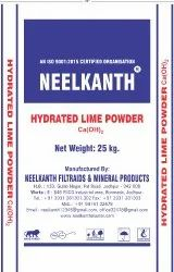 Neelkanth White Hydrated Lime Powder, Grade: A, For Chemicals