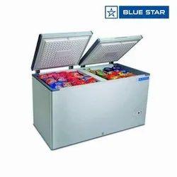 Double Door Bluestar Chest Freezers