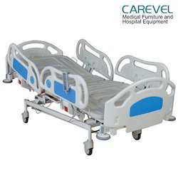Carevel Motorized 5 Function Standard ICU Bed