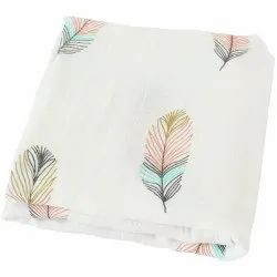 Premium Brand Printed Bamboo Cotton Swaddle