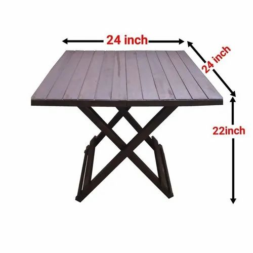 Natural Polished Modern Pine Wood Vip Foldable Coffee Table For