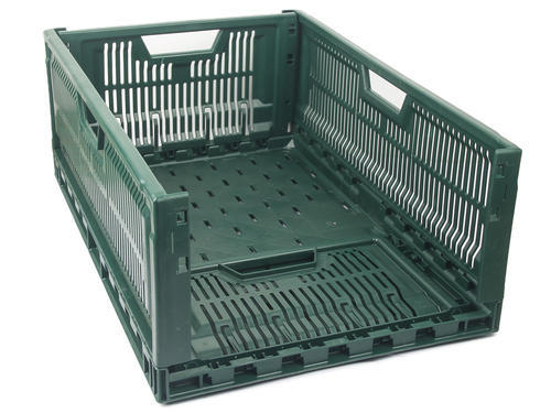 Foldable Crates at Rs 560/piece | Perforated Plastic Crates | ID ...