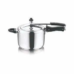 Stainless Steel Round Vinod Pressure Cooker, Capacity: 2 Litres
