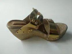 Party Wayar Faux Leather Ladies footwear hola, Size: 6*11