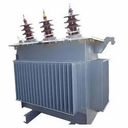 Aluminum Wound Three Phase Distribution Transformer
