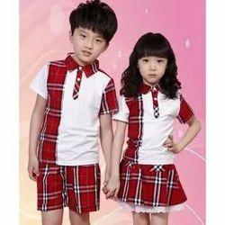 Poly Cotton Kids Pre School Uniform