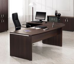 Stylish Executive Office Workstation