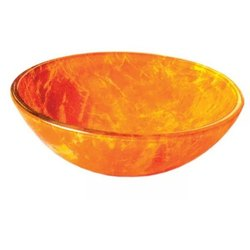 Table Top Mounted Pristine Trendz PT-505GB Tempered Glass Basin