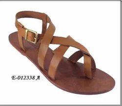 Leather Women Footwear E-012338 A