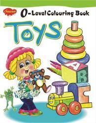 0 Level Coloring Toys Book