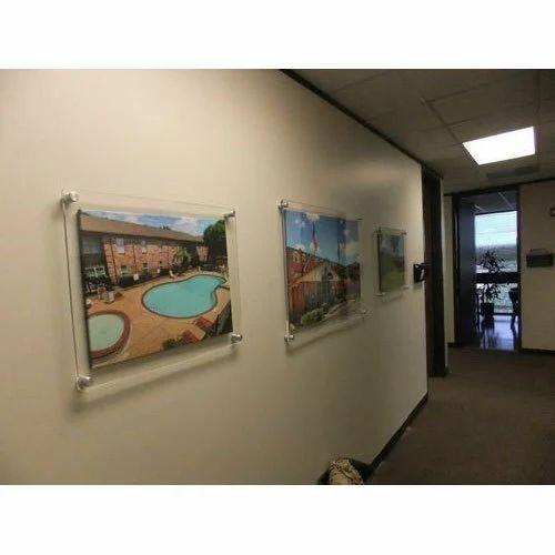 Acrylic Glass Wall Frames ऐकरलक फट फरम Ss
