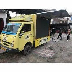 LED Mobile Van Road Show Service