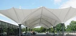 FRP Modular Inverted Tensile Structure
