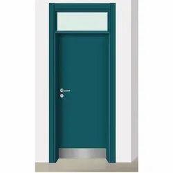 Wooden School Door