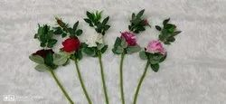 Red,Pink Artificial Rose Flower